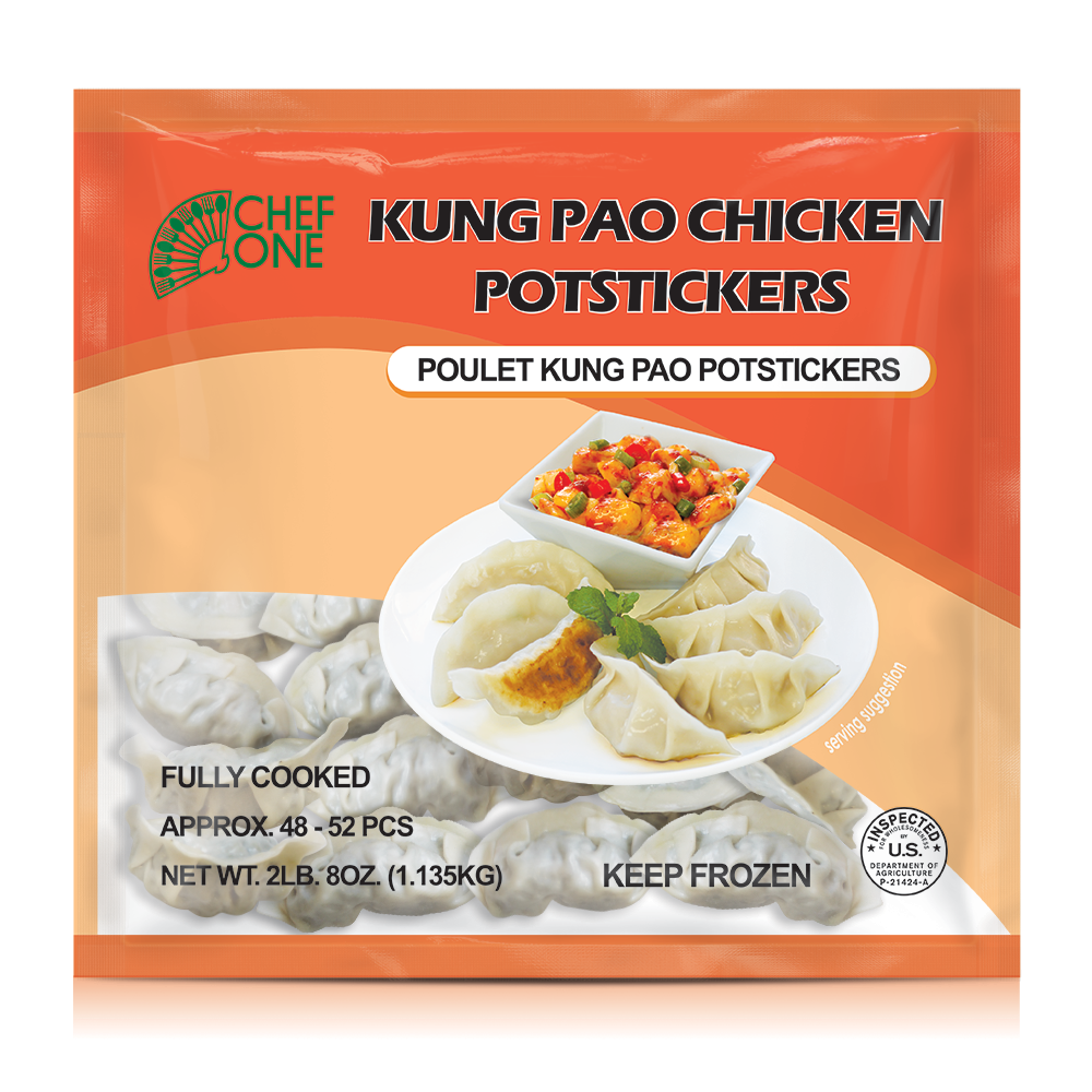 Kung Pao Chicken Dumplings