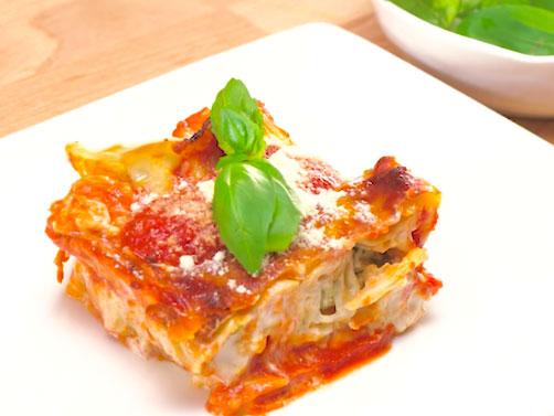 Chicken & Kale Dumpling Lasagna