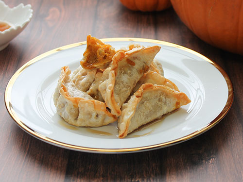 Pumpkin Pie Dumplings