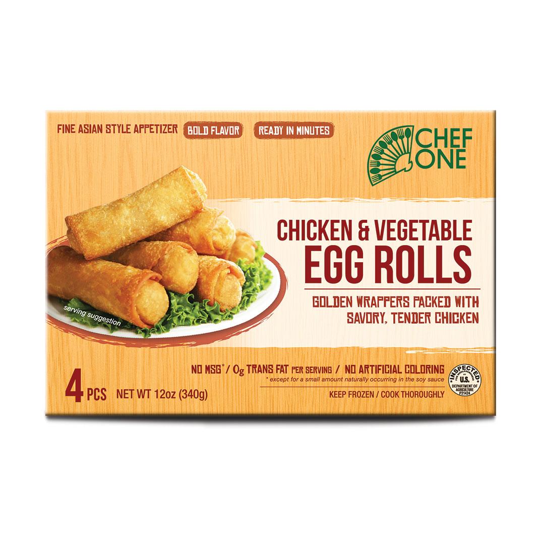 Chicken & Vegetable Egg Roll
