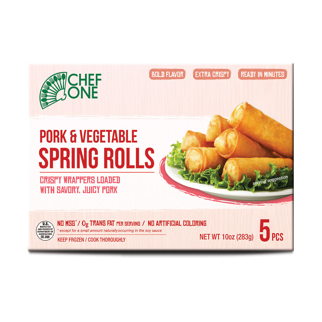 Pork & Vegetable Spring Roll