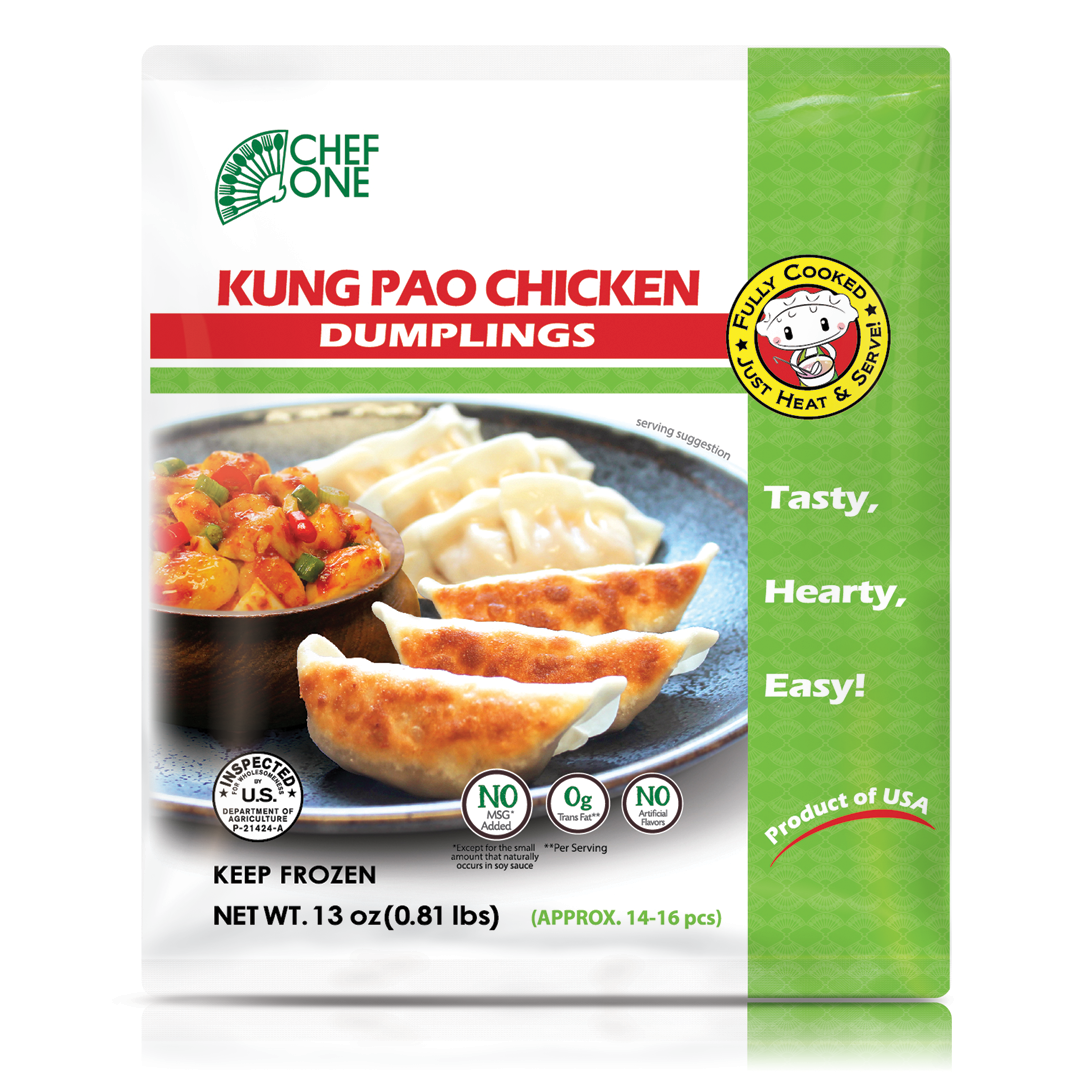 Kung Pao Chicken Dumpling Retail