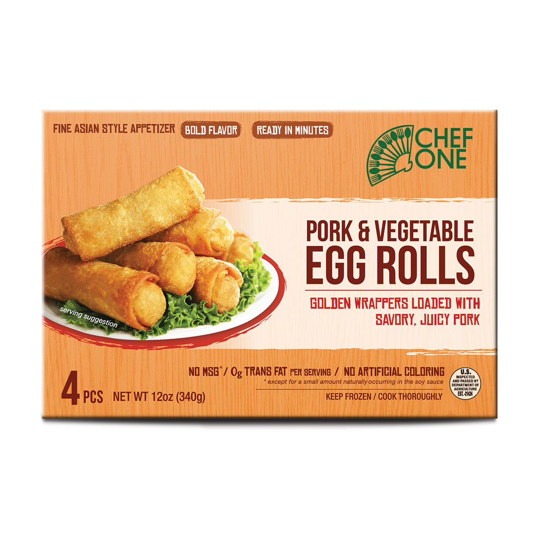 Pork and Veg Egg Roll Retail