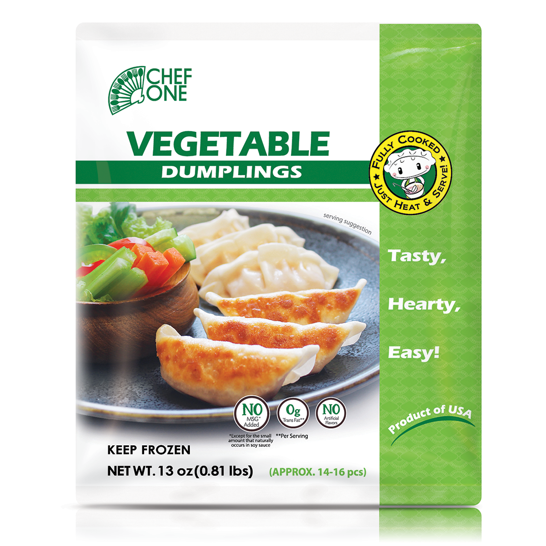Vegetable Dumpling Retail