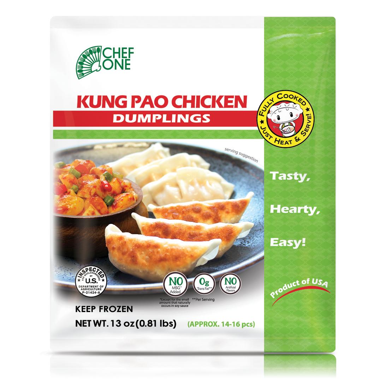 Kung Pao Chicken Dumpling
