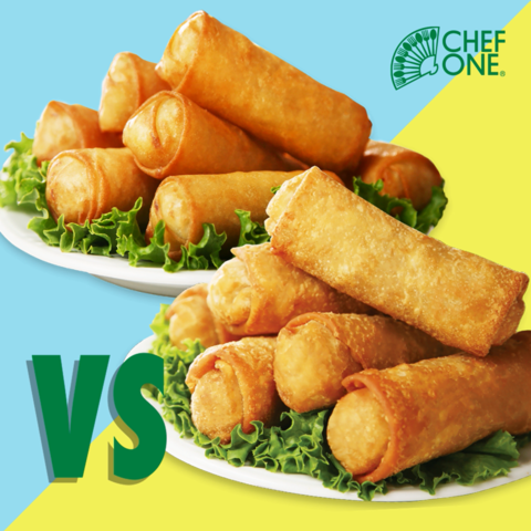What Is The Difference Between Spring Rolls And Egg Rolls
